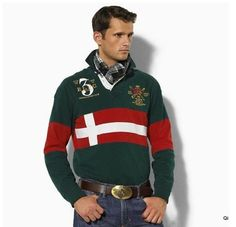 rugby club: ralph lauren style