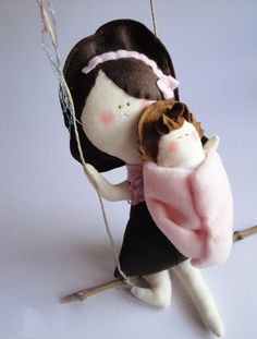 Cromanticamente handmade dolls