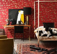 For a slightly more sophisticated take on the teen compound take cues from this retreat created by Belle style director-at-large Steve Cordony. Black and gold lamp from Conley & Co. Belle Magazine, Fashion Room, House Rooms, Kids Bedroom, Cool Kids, Living Spaces, Teen, Cool Stuff, Create