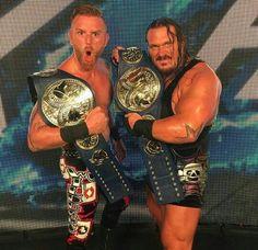 New WWE Smackdown Champions, Heath Slater and Rhyno