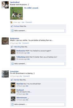 Facebook Warriors by ElementsOfNature.deviantart.com on @DeviantArt