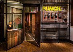 Neri&Hu creates bespoke furnishings for Shanghai punch bar