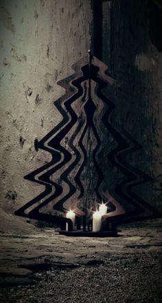 Forêt Noire 160 cm in acciaio Corten # Forêt Noire 160 cm Corten steel