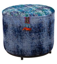 kilim pouf - abc carpet