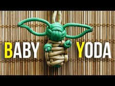 Baby Yoda is the greatest thing to happen to Star Wars. Now, you can carry Baby Yoda with you wherever you go with this Baby Yoda Paracord Keychain. Paracord Keychain, Diy Keychain, 550 Paracord, Paracord Bracelets, Keychain Ideas, Knot Bracelets, Survival Bracelets, Paracord Tutorial, Paracord Ideas