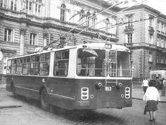 Trolibusz Capital Of Hungary, Commercial Vehicle, Budapest Hungary, Past, Street View, Europe, Landscape, History, Retro