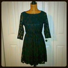 Black Lace Cocktail Dress Black Lace Cocktail Dress Size Medium M BeBop Dresses
