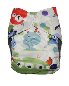 monster cloth diaper | Gen2 - Monster Mischief Cloth Diaper