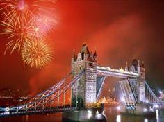 Londen Oud&Nieuw , towerbrigde