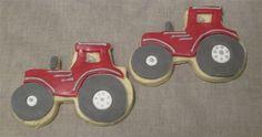 tractor cookies by Monsieur Koko