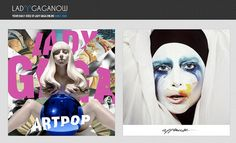 create viral content for individuals with a huge following/get content in the hands of people who really care about it, and pull them towards your station. www.radioiloveit.com | Homepage of a Lady Gaga fansite (image: Lady Gaga Now)