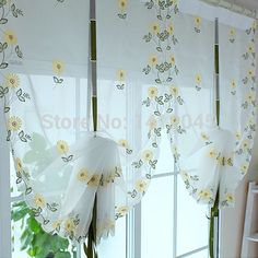festoon window blinds - fancy window curtains tutorial | curtain