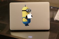 Despicable Me Minions Macbook Decal Macbook Stickers by bestdecal1, $8.50