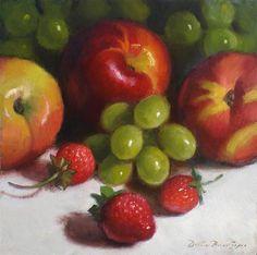 """Summer Fruit"" - Original Fine Art for Sale - © Debra Becks Cooper"