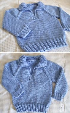 Amazing Knitting provides a directory of free knitting patterns, tips, and tricks for knitters. Free Baby Sweater Knitting Patterns, Knit Baby Sweaters, Knitted Baby Clothes, Free Knitting, Baby Clothes Patterns, Garter Stitch, 18 Months, Banks, Ravelry