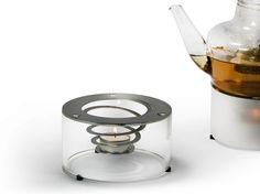 Calentador de platos en acero y vidrio STOEVCHEN02 by OPOSSUM Design