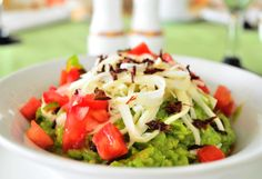 Fresh guacamole at Secrets Huatulco Resort & Spa makes for an amazing beach snack!