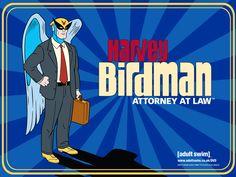Harvey Birdman: Attorney at Law Harvey Birdman, Attorney At Law, Hanna Barbera, Cartoon Art, Tv Shows, Swimming, Superhero, Cartoons, Movie Posters