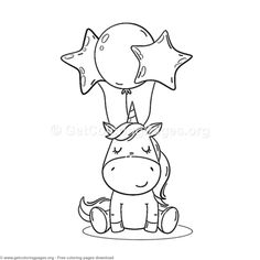 80 Cute Cartoon Unicorn Coloring Pages – birthdaycakeideas Adult Coloring Pages, Unicorn Coloring Pages, Cute Coloring Pages, Coloring Books, Cartoon Coloring Pages, Unicorn Drawing, Cartoon Unicorn, Simple Cartoon, Cute Cartoon