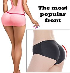 633e005be7e Lelinta Padded Seamless Butt Lifter Panty Booty Enhancer Tummy Control Body  Shaper    Continue to the product at the image link.
