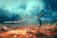 SAGITTARIUS from the Dancing Zodiac by AquaSixio on DeviantArt
