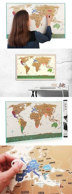 Other travel maps 164807 scratch off world map premium plastic other travel maps 164807 scratch off world map premium plastic will not tear 32 in x 2275 in us buy it now only 4456 on ebay pinterest gumiabroncs Gallery