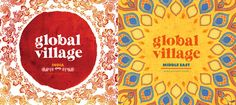 Maricor/Maricar-- Illustrated typography for Universal Global Village compilations