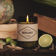 Bergamot Candle by Upwined Candles Hamburg