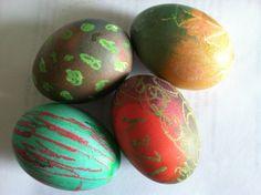 Art Easter eggs from San Francisco.