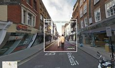 (What's the Story) Morning Glory by Oasis overlaid onto Google Street View image
