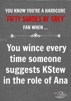 Hardcore 'Fifty Shades' fans have a lot to contend with ... more here: http://thestir.cafemom.com/entertainment/155589/you_know_youre_a_hardcore?utm_medium=sm_source=pinterest_content=thestir