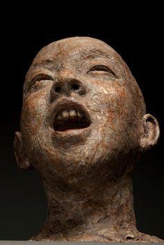Robin Power ceramic sculpture                                                                                                                                                                                 More