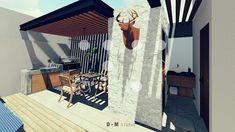 Loft, Exterior, Patio, Garden, Outdoor Decor, Home Decor, Terrace Design, Stone Walls, Rooftops