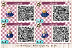 ユウナのふく Yuna cosplay QR code from Besaid Designs Blog