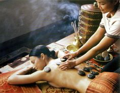 Ayurvedic Hot Stone Massage. #Healing Touch Therapy Benefits