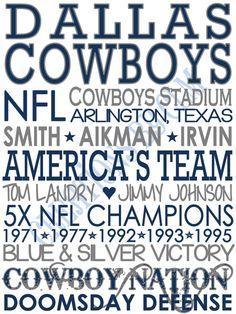 #CowboysNation *★* #DCF #Dallas #Cowboys #DC4L ☆