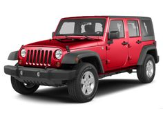 2013 Jeep Wrangler Unlimited Sahara in Rock Lobster Clearcoat - This beauty will soon be MINE!!!  :)