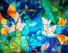 "Dove Stained Glass Window Film - 36"" wide x 28"" long: Sold in one continuous roll, by the pattern. Remlor Decorative Window Film,http://smile.amazon.com/dp/B0012NAA0Y/ref=cm_sw_r_pi_dp_YMbWsb1E0DZWBP3K"