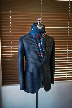 Gingham Check Sports Coat