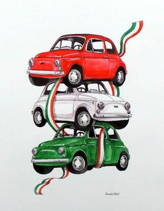 500 100 Made in Italy Fiat Cinquecento, Fiat 500c, Fiat Abarth, Vespa, Vintage Posters, Logo Vintage, Automobile, Up Auto, Fiat Cars
