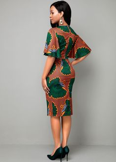 Latest African Fashion Dresses, African Print Dresses, African Dresses For Women, African Print Fashion, African Attire, Ankara Fashion, Africa Fashion, Ethnic Fashion, Traditional African Clothing