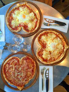 Gluten free pizza and desserts at Il Quadrifoglio Paris (near Bastille) via Baci di Dama Gluten Free