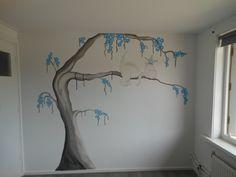 muurschildering dirk het draakje