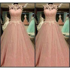 Elegant Prom Dresses,Lace Prom Dresses.Floor Length Prom Dresses,Sleeveless