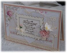 ScrappEllen: En gavepose med tilhørende konfirmasjons-kort til jente!:)