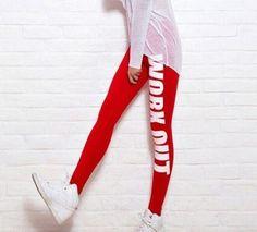 10f82eab92752 Sport Leggings Workout Leggings for Women Workout Clothes gym Cotton Printed  Workout Pants