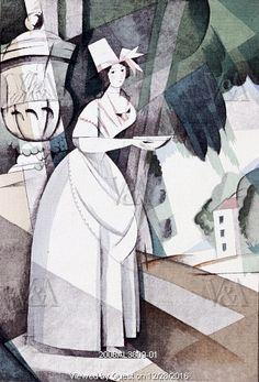 The Country Girl, by Gazette du Bon Ton. Paris, France, 1921