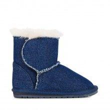 Emu džínové dětské válenky Toddle Denim Indigo - 1250 Kč Bearpaw Boots, Ugg Boots, Emu, Uggs, Indigo, Australia, Denim, Shoes, Fashion