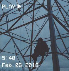 M O O N V E I N S 1 0 1 #vhs #aesthetic #loner #electric #tower #blue #hood