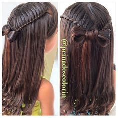 Wonderful Photographs Haircut types for girls Concepts , Hair Style Boys Cute Hairstyles For Kids, Little Girl Hairstyles, Trendy Hairstyles, Braided Hairstyles, Short Hair Styles Easy, Natural Hair Styles, Little Girl Updo, Girl Haircuts, Toddler Hair